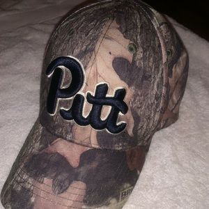 Adjustable Camo Pitt Hat